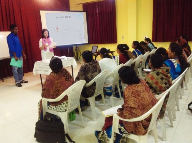 Training for healthcare workers on HIV/AIDS