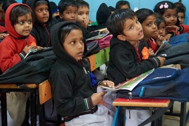 Slum School Classroom