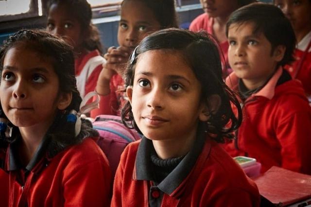 Slum School Pupils